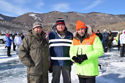 AEСС'  Open Team-Individual Championship on ice fishery by fishrod on Lake Baikal for Lebedev Cup Trophy