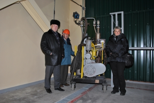 Location the guaranteed reserve of LEU in the storage facility of JSC IUEC (Russian Federation, Angarsk, 26 November 2010)