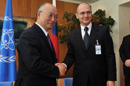 Signing of the Agreement between the Russian Federation and IAEA on establishing of the Bank of Fuel (Austria, Vienna, 29 March 2010)