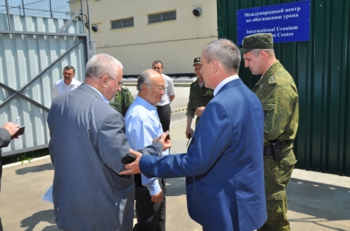 Official visit of the IAEA Director General Yukiya Amano at the JSC «IUEC» and JSC «AECC»  (Russia, Angarsk, 20 June 2015)