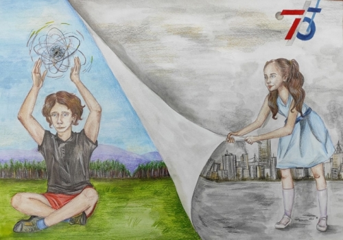 Competition of children's creativity «Art - Relay - Energize with ATOM»