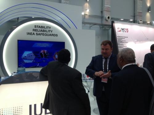 JSC IUEC in the jubilee Х International Forum ATOMEXPO-2018